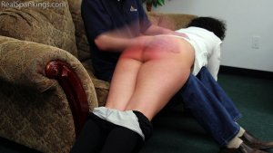 Real Spankings - Rose: Spanked Before Heading Out - image 3