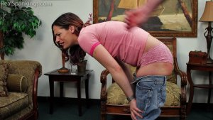Real Spankings - Ten Gets A Double Dose From Mr. M (part 2 Of 2) - image 2