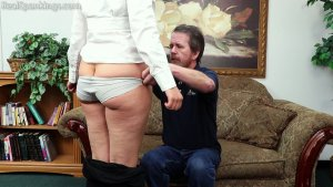 Real Spankings - Rose: Spanked Before Heading Out - image 9
