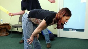 Real Spankings - Ten: Paddled For Smoking - image 4