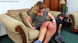 Real Spankings - Ambriel: Spanked Hard By Miss Betty (part 1 Of 2) - image 1