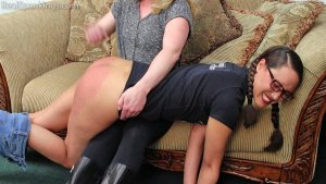 Real Spankings - Ambriel: Spanked Hard By Miss Betty (part 1 Of 2) - image 11