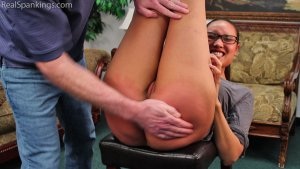 Real Spankings - An Embarrassing Spanking For Ambriel - image 1