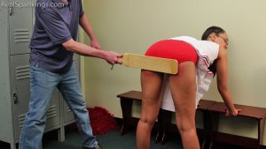 Real Spankings - Cheerleader Punishment: Ambriel - image 11