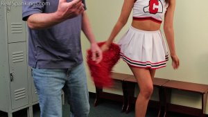 Real Spankings - Cheerleader Punishment: Ambriel - image 1