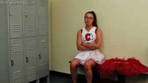 Real Spankings - Cheerleader Punishment: Ambriel - image 3