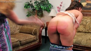 Real Spankings - Bare Breasted Punishment: Asher - image 2