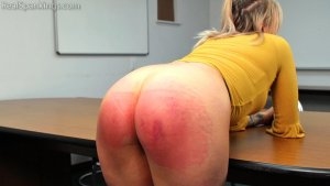 Real Spankings - Bare Bottom School Swats: Cara - image 11