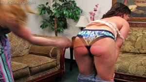 Real Spankings - Bare Breasted Punishment: Asher - image 6