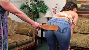 Real Spankings - Bare Breasted Punishment: Asher - image 10