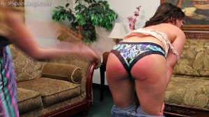 Real Spankings - Bare Breasted Punishment: Asher - image 9