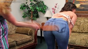 Real Spankings - Bare Breasted Punishment: Asher - image 12