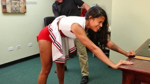 Real Spankings - Cheerleader Paddling: Cleo - image 9