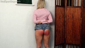 Real Spankings - Cara: Caught With Cigarettes... Again. - image 8