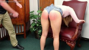 Real Spankings - Cara: Caught With Cigarettes... Again. - image 6