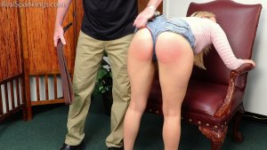 Real Spankings - Cara: Caught With Cigarettes... Again. - image 5