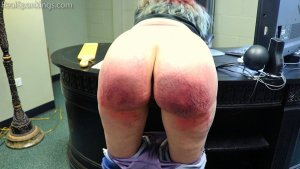 Real Spankings - Paddled For Profanity - image 1