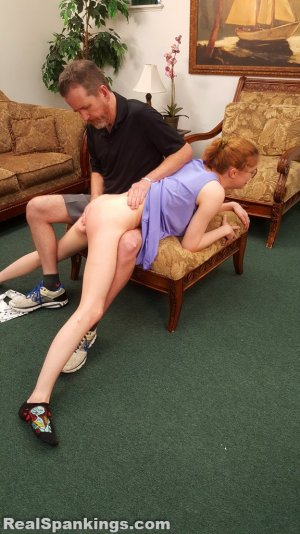 Real Spankings - Julia Is Spanked Before Bed - image 4