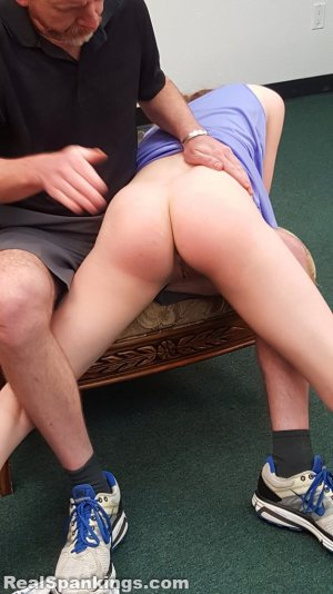 Real Spankings - Julia Is Spanked Before Bed - image 10