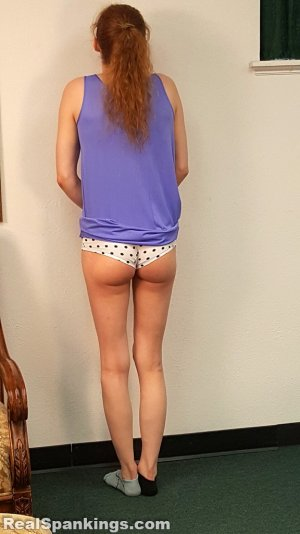 Real Spankings - Julia Is Spanked Before Bed - image 5