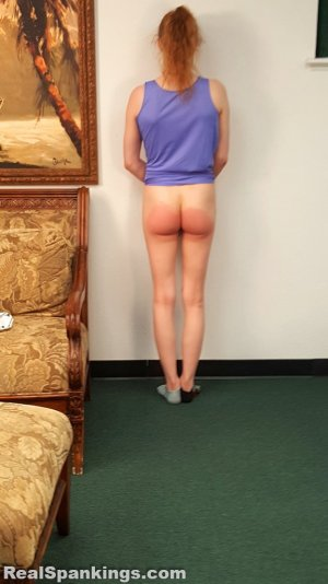 Real Spankings - Julia Is Spanked Before Bed - image 8