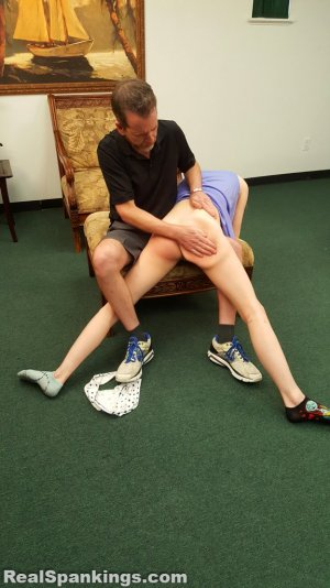 Real Spankings - Julia Is Spanked Before Bed - image 9