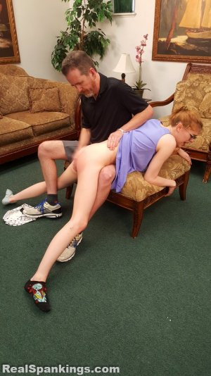 Real Spankings - Julia Is Spanked Before Bed - image 15