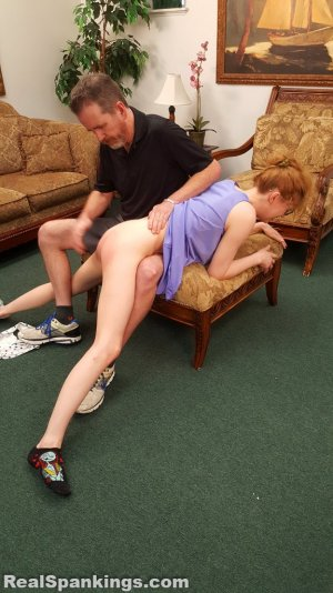 Real Spankings - Julia Is Spanked Before Bed - image 16