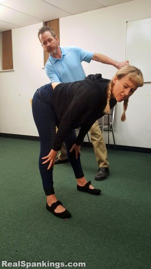 Real Spankings - Kiki And Cara Sent For A Paddling (part 2 Of 2) - image 11