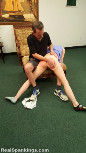 Real Spankings - Julia Is Spanked Before Bed - image 18