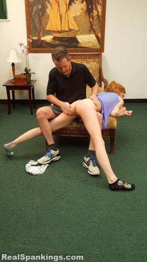 Real Spankings - Julia Is Spanked Before Bed - image 12