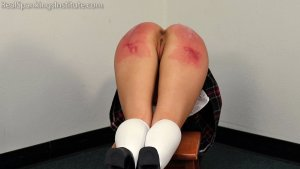 Real Spankings Institute - Peaches' Bad Day At The Institute (part 3 Of 3) - image 2
