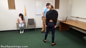 Real Spankings - Kiki And Cara Sent For A Paddling (part 2 Of 2) - image 14