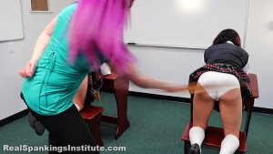 Real Spankings Institute - Spanked Together (part 1 Of 4) - image 5