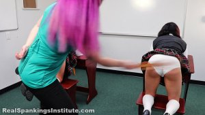 Real Spankings Institute - Spanked Together (part 1 Of 4) - image 2
