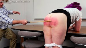 Real Spankings Institute - Betty Is Punished For Abusing Her Power (part 2 Of 2) - image 5