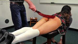 Real Spankings Institute - Peaches' Bad Day At The Institute (part 2 Of 3) - image 7