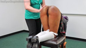 Real Spankings Institute - Cupcake: Punished By Miss Betty And The Dean (part 1 Of 3) - image 2