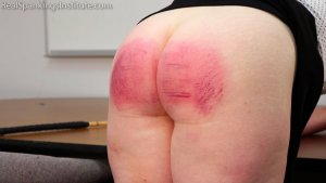Real Spankings Institute - Betty Is Punished For Abusing Her Power (part 2 Of 2) - image 4