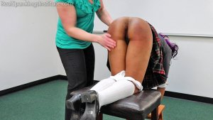 Real Spankings Institute - Cupcake: Punished By Miss Betty And The Dean (part 1 Of 3) - image 9