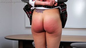 Real Spankings Institute - Peaches' Bad Day At The Institute (part 1 Of 3) - image 3