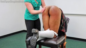 Real Spankings Institute - Cupcake: Punished By Miss Betty And The Dean (part 1 Of 3) - image 6