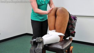 Real Spankings Institute - Cupcake: Punished By Miss Betty And The Dean (part 1 Of 3) - image 8