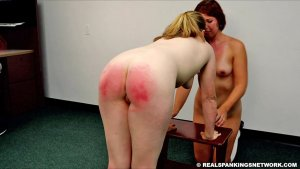 Real Spankings Institute - Maddy & Kyra: Punished By Betty And The Dean (part 3) - image 1