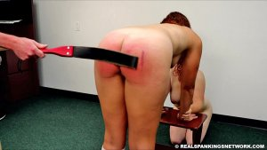 Real Spankings Institute - Maddy & Kyra: Punished By Betty And The Dean (part 3) - image 13