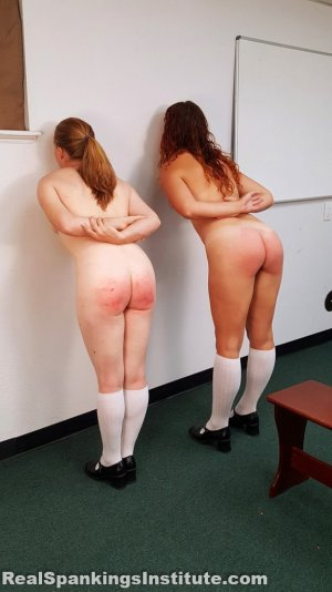 Real Spankings Institute - Maddy & Kyra: Punished By Betty And The Dean (part 2) - image 9