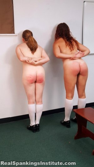 Real Spankings Institute - Maddy & Kyra: Punished By Betty And The Dean (part 2) - image 7