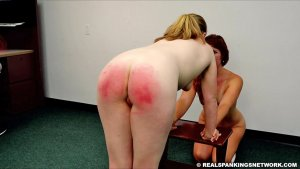 Real Spankings Institute - Maddy & Kyra: Punished By Betty And The Dean (part 3) - image 4