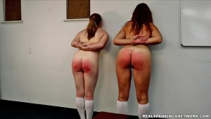 Real Spankings Institute - Maddy & Kyra: Punished By Betty And The Dean (part 3) - image 15