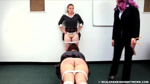 Real Spankings Institute - Maddy & Kyra: Punished By Betty And The Dean (part 1) - image 10